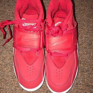 Nike Shoes - Nike Air diamond turf red men size 8